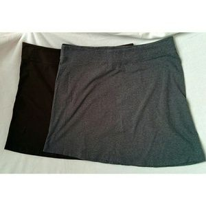 2 Stretchy Skirts